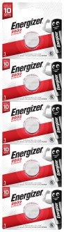 Батарейки Energizer CR2032 Lithium 5 шт (E302699800) (7638900433661)