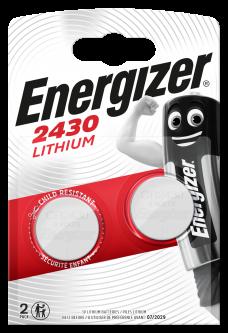 Батарейки Energizer CR2430 Lithium 2 шт (E300830303) (7638900379914)