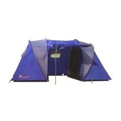Палатка туристическая кемпинговая 4-х местная двухкомнатная Lanyu LY-1699