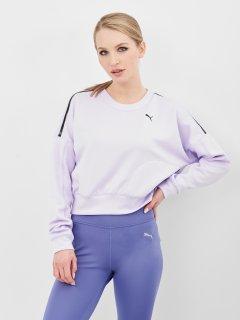 Худи Puma Train Zip Crew Sweatshirt 52027216 S Light Lavender (4063697435896)