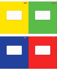 Набор тетрадей ученических Мрії збуваються Цветная коллекция В5 клетка 18 листов на скобе уплотненная картонная обложка 4 дизайна 20 шт (ТА5.1811.1869к)