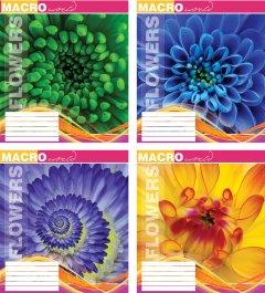 Набор тетрадей ученических Мрії збуваються Макромир В5 линия 36 листов на скобе уплотненная картонная обложка 4 дизайна 16 шт (ТА5.3621.3000л)