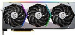 MSI PCI-Ex GeForce RTX 3090 Suprim X 24G 24GB GDDR6X (384bit) (1860/19500) (HDMI, 3 x DisplayPort) (GeForce RTX 3090 SUPRIM X 24G)
