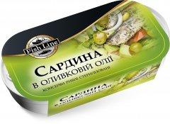 Сардина Fish Line в оливковом масле 125 г (3760204210830)