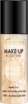 Дымка-спрей 3 в 1 для макияжа Bielenda Make-UP Academie nude 150 мл (5902169034078)