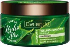 Скраб сахарный Bielenda Super Skin Diet Hydro Aloe Увлажняющий 350 г (5902169034139)