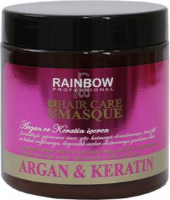 Маска Rainbow Professional Аргана+кератин для поврежденных волос 500 мл (73986) (8697426739861)