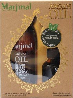 Набор для волос Marjinal Professional Аргановое масло+спрей (73937) (8697426739373)