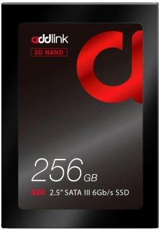 "AddLink S20 256GB 2.5"" SATAIII 3D NAND TLC (ad256GBS20S3S)"