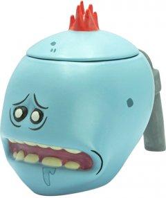 Чашка 3D ABYstyle Rick and Morty Mr. Meeseeks (год и Морти) 450 мл (ABYMUG675)