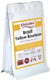 Кофе в зернах Enigma Brazil Yellow Bourbon 500 г (4000000000055)