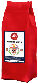 Кофе в зернах Amalfi Espresso Sierra 1 кг (4000000000064)