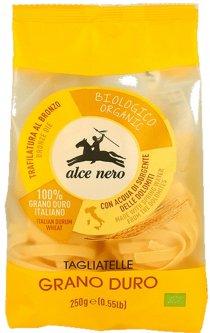 Макаронные изделия из твердых сортов пшеницы Alce Nero Тальятелле 250 г (8009004809604)