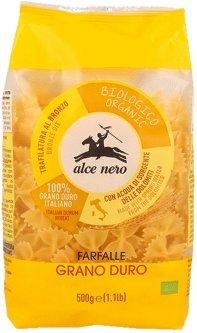 Макаронные изделия из твердых сортов пшеницы Alce Nero Фарфалле 500 г (8009004118645)
