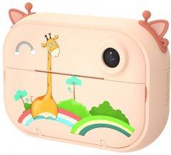 Цифровой детский фотоаппарат-принтер XOKO KVR-1500 Оранжевый Жираф (KVR-1500-OR)