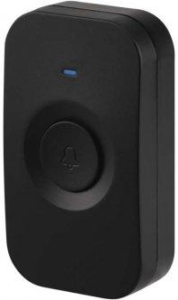 Кнопка для беспроводного звонка Emos P5728T для моделей P5728, P5730 Черная