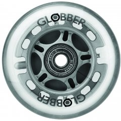 Запчасть к самокатам Globber серии Primo/Evo Колесо 80 мм светящееся (526-011)