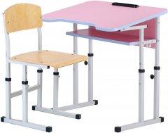 Комплект Сектор Игра: парта и стул-трансформеры + пенал