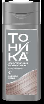 Оттеночный бальзам для волос Тоника 9.1 Платиновий блондин 150 мл (80404510)