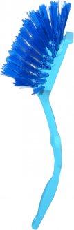 Щетка для мытья посуды Zambak Plastik Lux 8 х 23 х 5 см Голубая (ZP84049/Lbl)