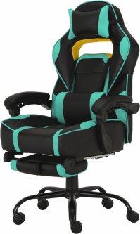 Кресло для геймеров GT RACER X-2748 Black/Mint