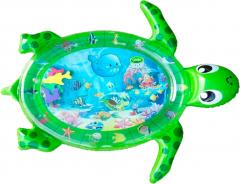 Развивающий коврик с водой Lindo Черепаха зеленый (6954691020110)