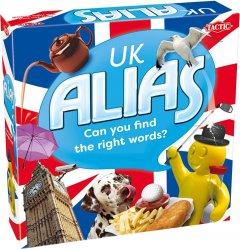 Настольная игра Tactic Элиас Великобритания UK Alias англ. (55710) (6416739557106)