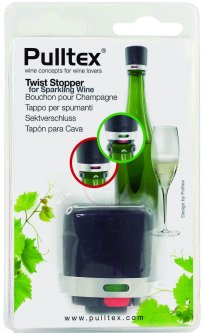 Пробка вакуумная для бутылки шампанского Pulltex Twist Champagne Stopper (117-941-01)