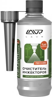 Очиститель инжекторов LAVR Petrol Injector's Cleaner присадка в бензин на 40-60 л 310 мл (Ln2109)