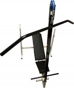 Скамья со стойкой для штанги Newt ProGym с тягой верхнего блока (NE-SK-3577)