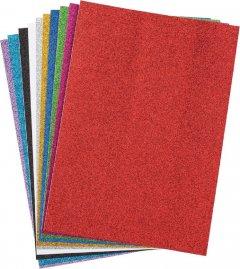 Набор декоративной бумаги Centrum Glitter А4 10 цветов (87718)