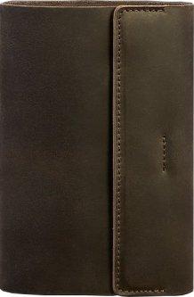 Блокнот BlankNote Краст 7.0 Кожаный Темно-коричневый 20.3 х 14 см 40 л (BN-SB-7-o)