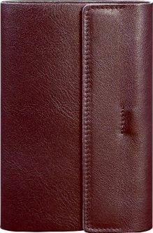 Блокнот BlankNote Краст 7.0 Кожаный Бордовый 20.3 х 14 см 40 л (BN-SB-7-vin)