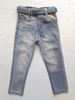 Джинси для хлопчика style LOOK сірі 7710-128