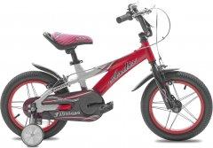"""Детский велосипед Ardis Fabulous 14"""" 9"""" 2021 Бело-красный (0423)"""