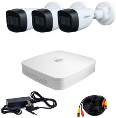 Комплект видеонаблюдения Dahua HDCVI-3W KIT + HDD500GB