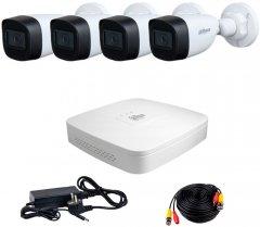 Комплект видеонаблюдения Dahua HDCVI-4W KIT + HDD500GB