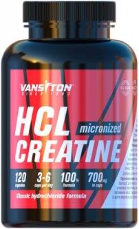 Креатин Vansiton гидрохлорид (HCL) 120 капсул (4820106592171)