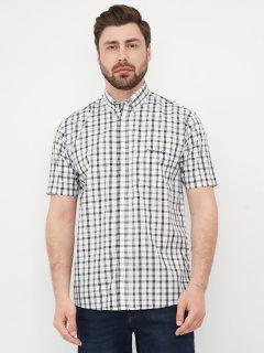 Рубашка Pierre Cardin 557134-92 L White/Blk Check