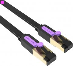Патч-корд Vention CAT7 SSTP Ethernet, 1 м Black (ICABF) (65781079)