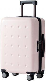 "Чемодан на 4-х колесиках Xiaomi Ninetygo Polka dots Luggage 20"" 36.5 л Pink (6972125142962)"