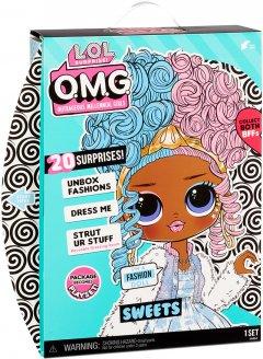 Игровой набор с куклой L.O.L. Surprise O.M.G Doll Series 4 Style 1 Леди-конфетка с аксессуарами (572763)