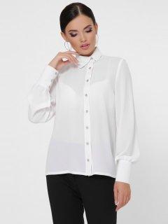 Рубашка Fashion Up Karya BZ-1784C 46 Белая (2100000160792)