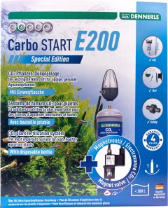 Установка для удобрения аквариумных растений углекислым газом Dennerle Carbo START E200 Special Edition (4001615029758)