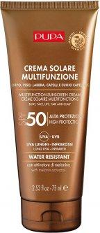 Солнцезащитный крем для тела, лица, губ, волос и кожи головы Pupa Sun Care Multifunction Sunscreen Cream SPF 50 75 мл (8011607331932)