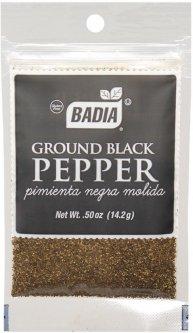 Перец черный Badia молотый 14 г (033844000240)