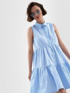 Платье O'STIN Studio LR5YB2-61 X9LE6YFYU5 S Светло-синее (2990022675967)