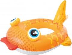 Надувной плот Intex Рыбка 117х 114 см (Intex 59380 orange) (6941057453804_1)