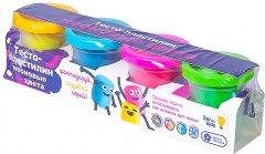 Набор для лепки Тесто-пластилин Неоновые цвета Genio Kids (TA1016V)