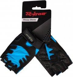 Перчатки для фитнеса Fit forever Be Fit S Черно-синие (AI-04-1453-D_S)